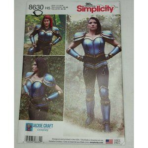 Simplicity Pattern 8630 Uncut Jackie Craft Cosplay